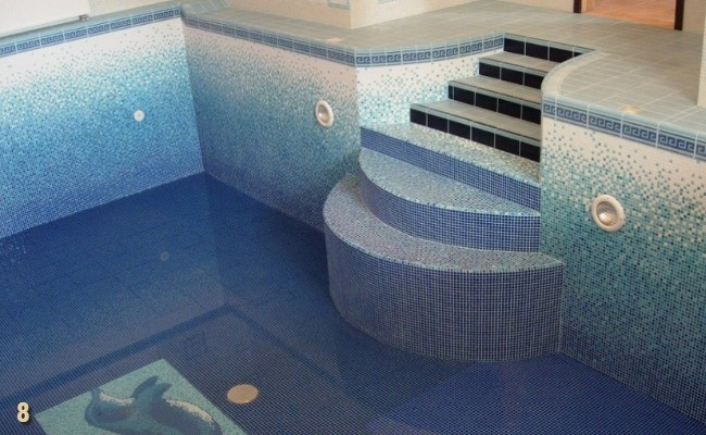 Внутренняя отделка бассейна