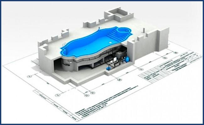 Архитектурное проектирование бассейнов