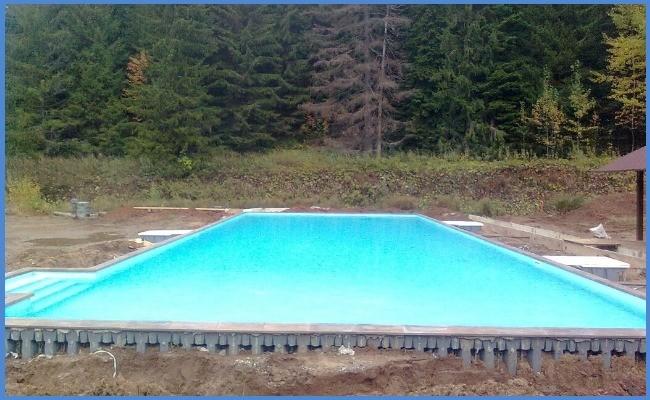От чего зависит стоимость строительства бассейна 25 метров под ключ