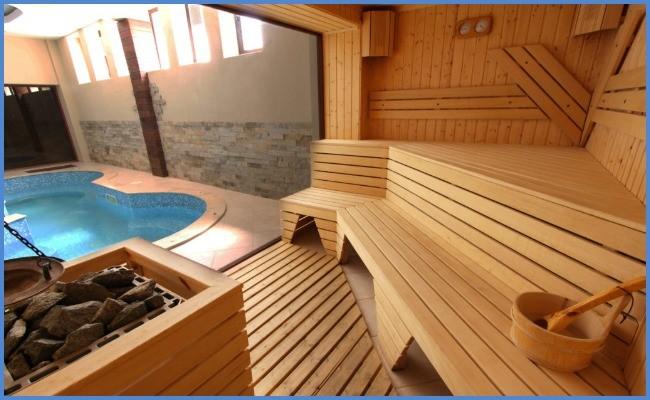 Проектирование бани с бассейном