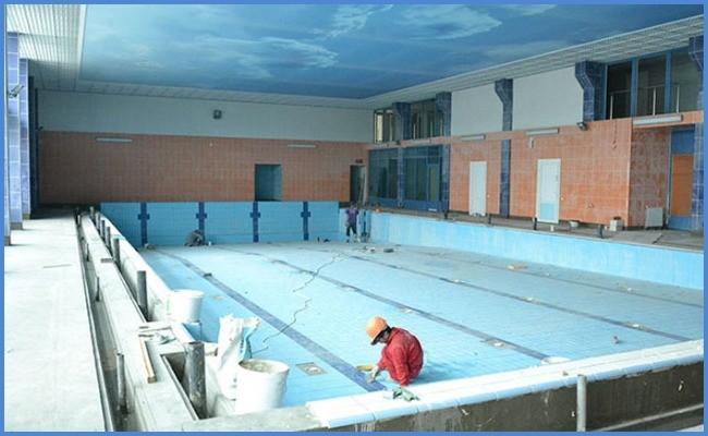 Что предусматривает услуга реконструкции бассейнов?